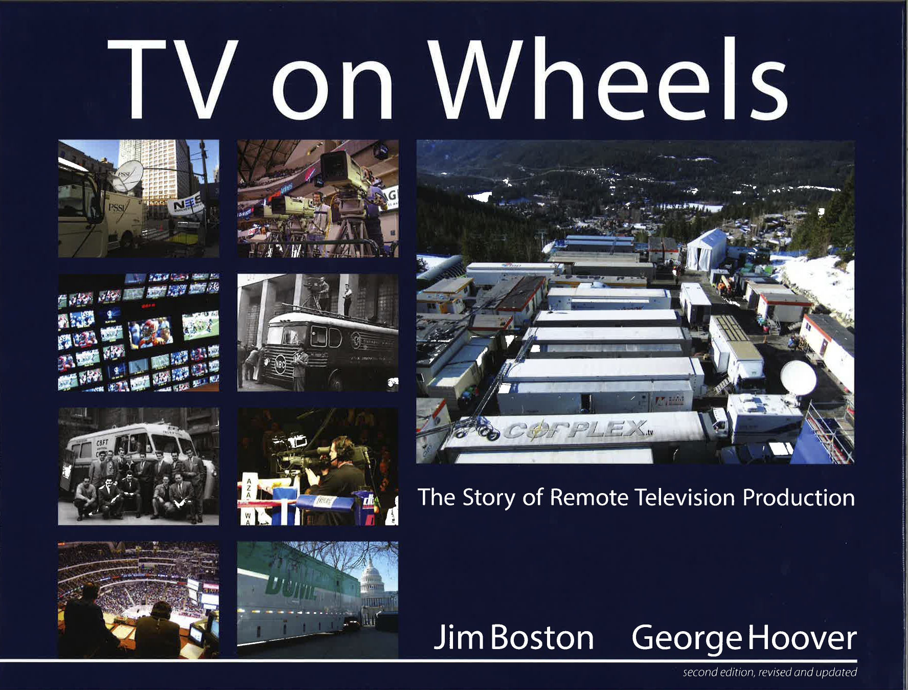 "Telestream's Jim Boston and His New Book, ""TV on Wheels"""