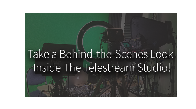 Take a Behind-the-Scenes Look Inside the Telestream Studio!